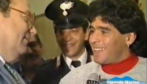 Luigi Necco e le gag con Maradona a 90° minuto