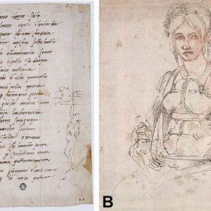 Michelangelo Buonarroti: spunta una autocaricatura in un disegno conservato al British Museum