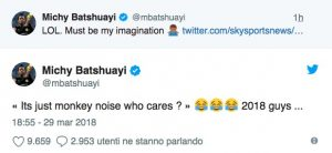 Uefa scagiona Atalanta da accusa razzismo, Michy Batshuayi ironizza su Twitter