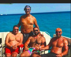 Mido, ex calciatore della Roma, sovrappeso: eccolo in costume (FOTO)