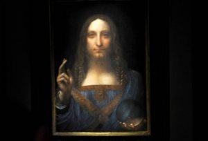 Il Salvator Mundi di Leonardo da Vinci sarebbe stato strapagato per una lotta tra principi arabi