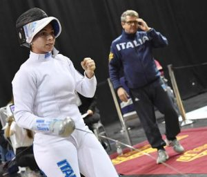Mara Navarria trionfa nella Coppa del mondo di spada