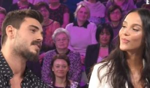Paola Di Benedetto e Francesco Monte ospiti a Verissimo parlando di loro, dell'Isola dei Famosi e...