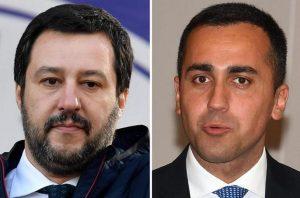 Salvini e Di Maio spaccati su presidenze Camere