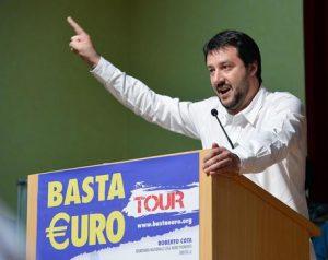 Matteo Salvini triplica i voti della Lega a Roma (9%). Nelle Marche dallo 0 al 17%
