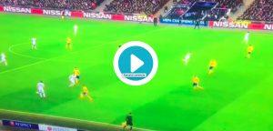Son video gol Tottenham-Juventus: Buffon era già a terra