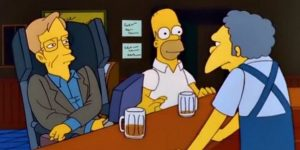 Stephen Hawking, la birra con Homer Simpson e tutti i suoi cameo in tv