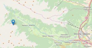 Terremoto tra Vipiteno e Racines: scossa del 2.7