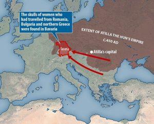 Gli Unni conquistarono la Baviera e l'Europa grazie alle loro....donne