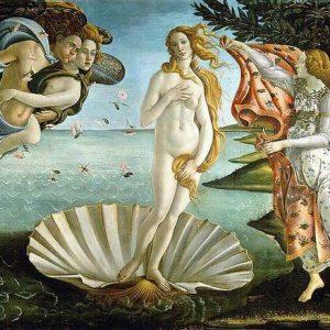 Venere di Botticelli: tra i simboli neoplatonici nascosti, un polmone allegoria del soffio divino