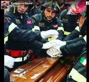 Dario Ambiamonte e Giorgio Grammatico: funerali dei pompieri di Catania dimenticati da tg e giornali