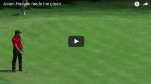 YOUTUBE Adam Hadwin, pallina da golf telecomandata: buca da PlayStation