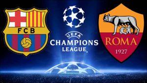 Barcellona-Roma live-streaming e in tv