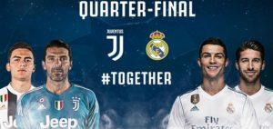 Real Madrid-Juventus streaming-diretta tv, dove vederla