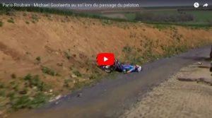 YOUTUBE Michael Goolaerts infarto durante Parigi-Roubaix di ciclismo