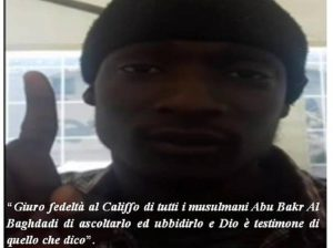 Alagie Touray, la storia dello jihadista dallo sbarco al video Isis