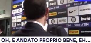 """YOUTUBE Allegri dopo la partita saluta Tagliavento: """"Arbitro promosso eh"""""""