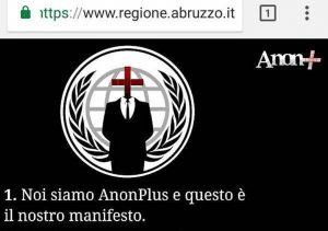 Attacco hacker al sito della Regione Abruzzo