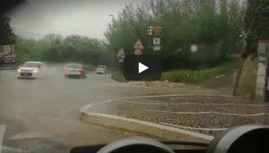 Teora (Avellino), maltempo e piogge: crolla ponte sulla strada provinciale 150