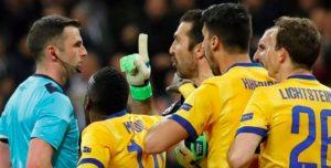 Real Madrid-Juventus 1-3. Cristiano Ronaldo elimina i bianconeri. Rigore (contestato) al 96° e Buffon espulso