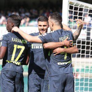 Chievo-Inter 1-2 highlights, pagelle: Icardi e Perisic decisivi