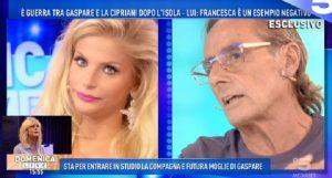"Francesca Cipriani a Domenica Live: ""Nino Formicola odia i napoletani"""