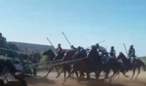 YOUTUBE Chieuti (Foggia), uomo muore travolto da cavallo durante la Cavalcata dei buoi