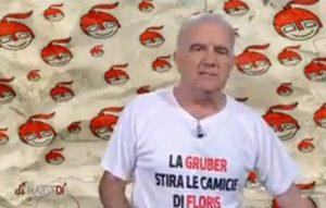 Gene Gnocchi maglietta Di Maio Pd