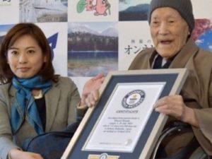 Masazo Nonaka più anziano al mondo: entra nel Guinness World Records a 112 anni