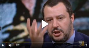 """Matteo Salvini e l'appello a Di Maio: """"Torna sulla Terra"""""""