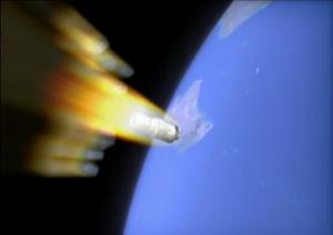 Forlì, dischetto non identificato atterra in fiamme: un frammento della sonda cinese?