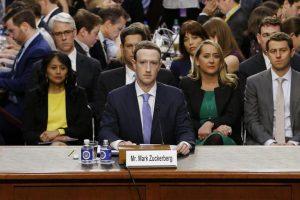 Facebook. Zuckerberg in diretta dal Senato Usa su fake news e privacy