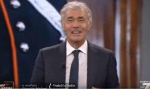 Girogia Meloni in diretta da Giletti