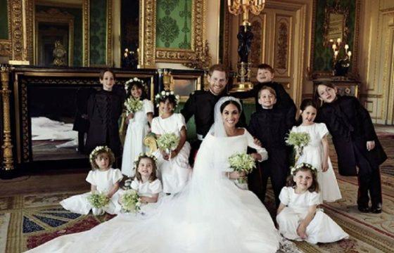 Royal wedding, nella FOTO ufficiale George e Charlotte