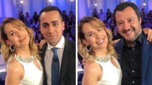 Barbara D'Urso novella Bruno Vespa. Se Mattarella le scrive che Salvini e Di Maio mentono...