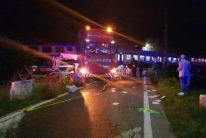 Stefan Aurelian, travolto e ucciso dai vagoni del treno deragliati (foto Ansa)