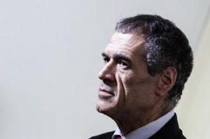 Governo, Carlo Cottarelli lascia il Quirinale (foto Ansa)