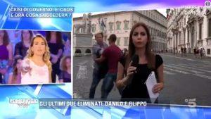 Barbara D'Urso, la reazione super con il disturbatore a Pomeriggio 5 VIDEO