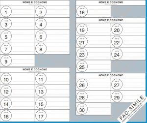 Elezioni comunali 10 giugno 2018 Avellino: come si vota, i candidati e FAC SIMILE SCHEDA ELETTORALE