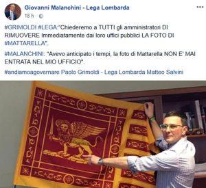 Lega, i sindaci della Brianza rimuovono la foto di Mattarella dagli uffici