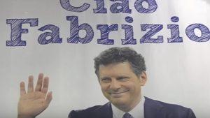YOUTUBE Fabrizio Frizzi, alla Partita del cuore il ricordo commosso e 3 minuti di applausi