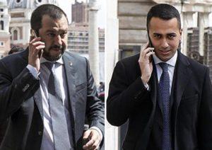Governo M5s-Lega pronto lunedì. Premier, staffetta Di Maio-Salvini: chi per primo?