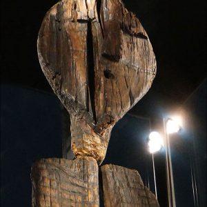 Idolo di Shigir: 11500 anni fa in Russia la prima forma di arte monumentale, una statua di legno
