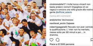 """Immobile stuzzica la Roma: """"I trofei vanno vinti, non basta andarci vicino"""
