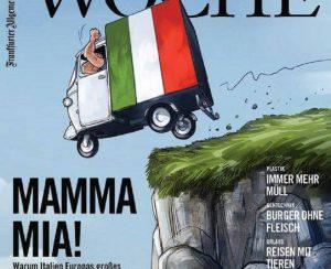 """La stampa tedesca attacca l'Italia: """"Un paese scroccone. E la colpa è di Mario Draghi"""""""