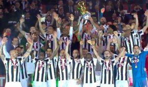 Trionfo Juventus in Coppa Italia, 4-0 al Milan: doppietta di Benatia