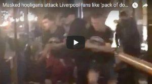 YOUTUBE Kiev, i tifosi del Liverpool picchiati da 20 persone
