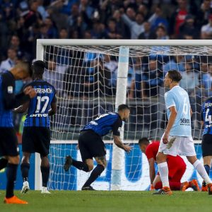Lazio-Inter 2-3 highlights e pagelle, Vecino decisivo De Vrij che errore