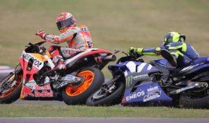 """Marc Marquez snobba Valentino Rossi: """"Il mio rivale è..."""" (foto Ansa)"""