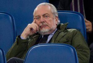 """Napoli, De Laurentiis attacca Sarri: """"Hanno giocato sempre gli stessi. E in Europa..."""" (foto Ansa)"""